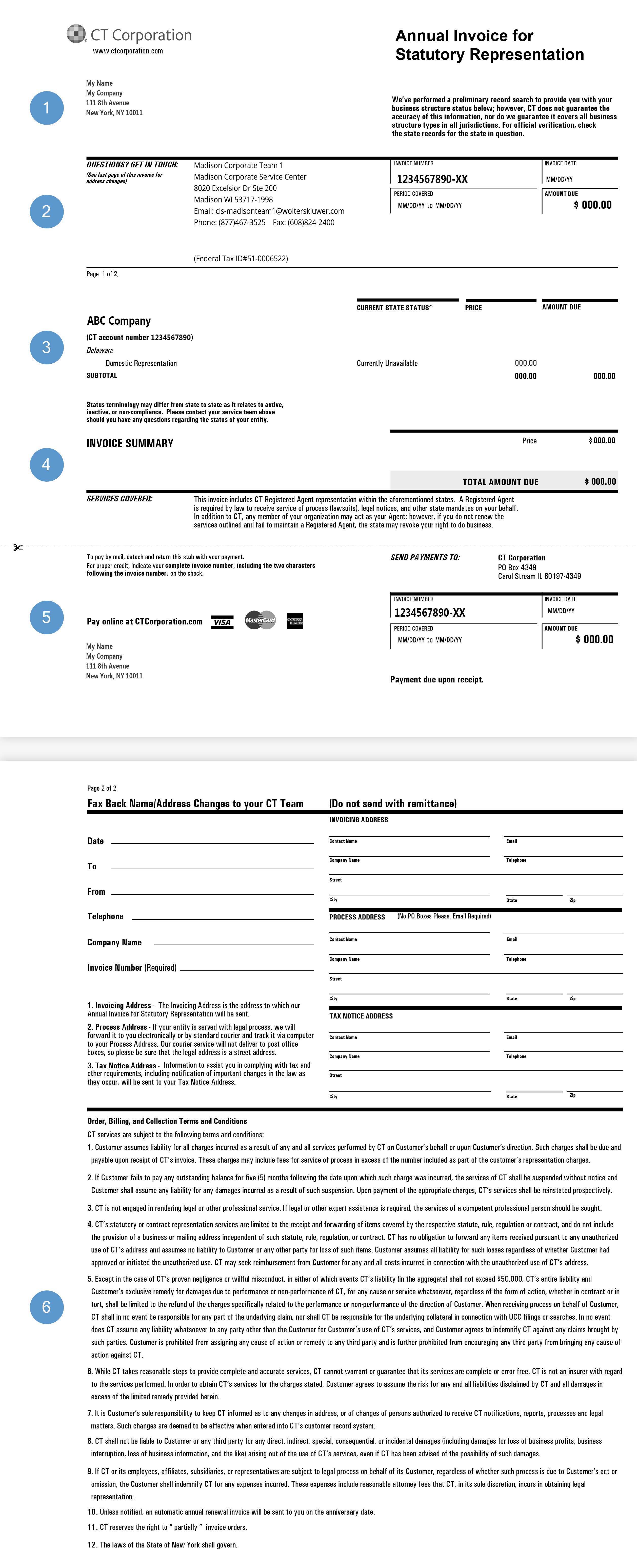 Renewal Invoice
